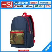 audited factory wholesale price plain preferential back pack