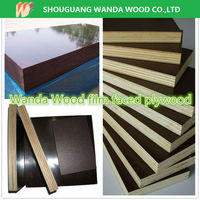 factory sell 12mm film faced plywood / black film faced plywood / structural plywood