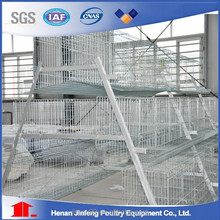 automatic hot dip galvanised battery broiler chicken cage for sale