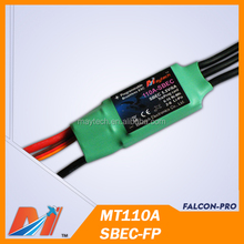 Maytech electronic speed controller for dc brushless motor for airplane 110A ESC for RC Model