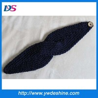 Latest designs fashion handcraft lady fashion wool headband wholesale TS-207