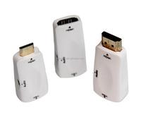 Mini HDMI Male To VGA Female Adapter With 3.5 Audio