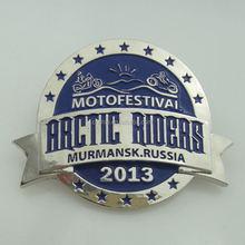 factory price wholesale custom led light up flashing name badge