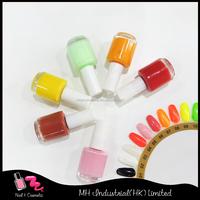 Fast dry private label pink nail polish/ nail lacquer 15ml nail supplies