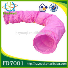 China Manufacturer Cute Folding Dog Play Tunnel