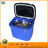 2015 NEW plastic cooler box with wheels and trolley 45L