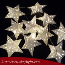 Good sale superior plastic star shaped led light
