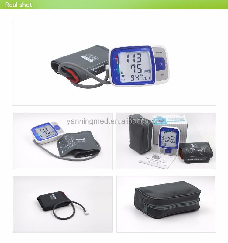 Excellent quality portable blood pressure meter,fda new blood pressure monitor,low price blood pressure monitor price