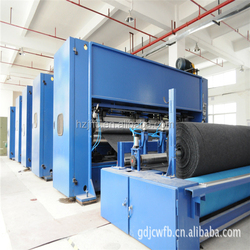 Needle-punched nonwoven fabric felt manufacturers