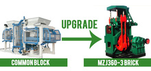 The perfect match Hydraulic brick production line
