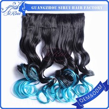Wholesale price excellent quality ombre Kanekalon Synthetic Hair Expression braiding hair