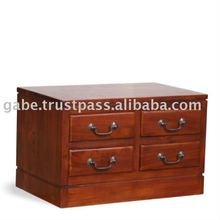 ARCHIVO SIDE TABLE WITH LOCK