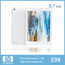 S98 9.7 Inch Android 4.4 Tablet PC with 3G Wifi