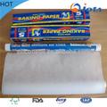de alta calidad de papel glasina de alimentos para la prueba de blanco de papel trazador de líneas