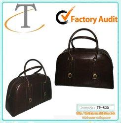 Fashionable PU leather travel bag 2012