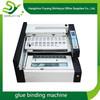 desktop hot sale high speed A4 size hot glue adhesive book binding machine