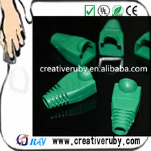 ROHS standard High Quality RJ45 Plug Cap Boots with different color