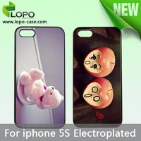 Best price Sublimation eletroplated phone cover case For iphone 5S