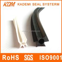 Modifying PVC rubber seal protector seal strip for car antenna