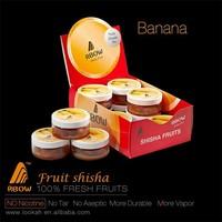100% tar free Banana fruits flavor modern hookah new design