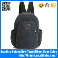Leisure canvas small chest bag cross strap backpacks for hiking