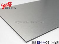 Building Facade decoration aluminium composite panel PE/PVDF