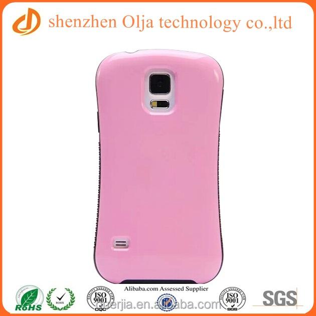 Olja small waist plastic case for samsung galaxy s5, blank phone case for samsung galaxy s5