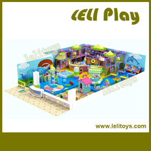 LL-I20 2015 New Trade Assurance Kids Play Area Good Quality Safe Children Indoor Naughty Castle