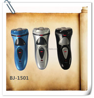 Men's electric shaver with hair trimmer