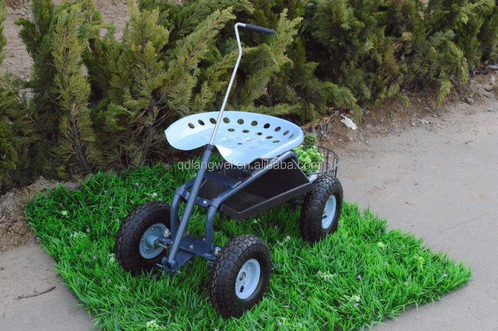 2015 hot sales garden cart scooter with swivel seat buy