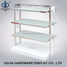 wood and glass shoe store design,grocery store display racks, retail shoe rack display