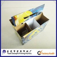 custimized cardboard paper beer packaging box