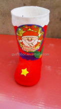 Christmas Boots Decoration Manufacturer Wholesaler from Yiwu Market for Christmas Gift