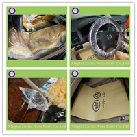 hot sale, cheap out door rain/dust proof plastic disposable car cover
