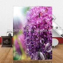 2013 New Flower Design Canvas Room Divider