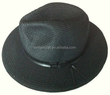 cheap straw panama hat for man wholesale promotional