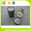 paper tube packaging whitening cream with PVC window