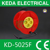 Cable reel extension cord retractable,power cords mobile portable cable reel