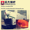 Chain grate automatic industrial hot water output biomass wood pellet heating boiler