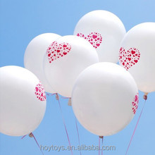 100% Natural Latex Valentines Ballon with EN71 Testing Report