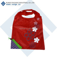 reusable foldable shopping bag fruit shape shopping bag