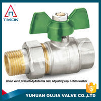 brass ball valve for uk and south africa brass ball valve pn25 swan brass ball valve tap with new boomet and long alum handle