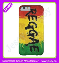 JESOY New Products 3D Sublimation Phone Cover ,Printable Phone Case Cover For i5C
