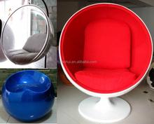 2015 Hot Sell Modern Fiber Glass Ball Chair