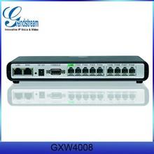 Grandstream 8 FXS Enterprise Gateway GXW4008 VOIP Product
