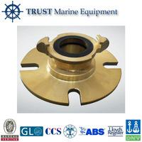 Marine brass international shore connection