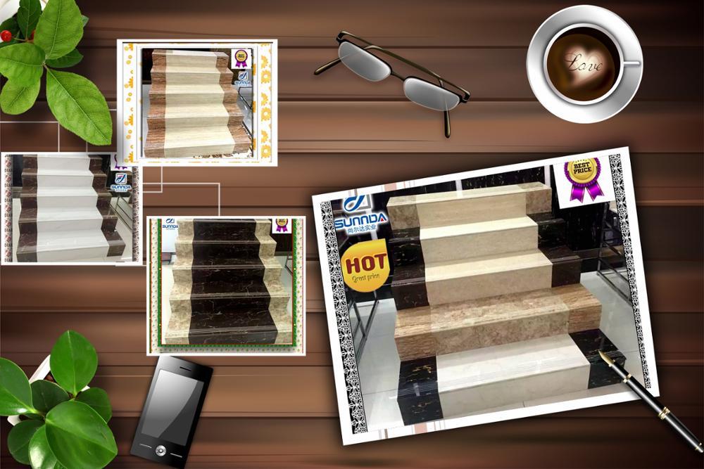 usine prix escaliers et lev es de tuiles de l 39 int rieur marbre escalier en c ramique carreaux de. Black Bedroom Furniture Sets. Home Design Ideas