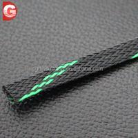 Colorful nylon/polyester woven expandable mesh tube
