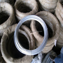 South America market Hot Dipped Galvanized Oval Wire (china manufacturer )