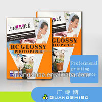 200gsm premium glossy inkjet photo paper waterproof a4 size glossy photo paper